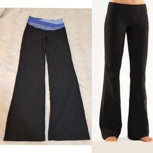 LULULEMON Women's groove Flare Black Leggings Sz 6